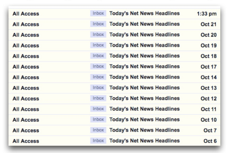Don't repeat subject line