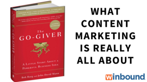 What content marketing is all about.