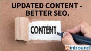 Updated Content - Better SEO
