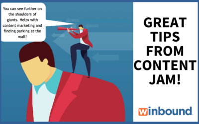 How I Will See Further on the Shoulders of Content Marketing Giants