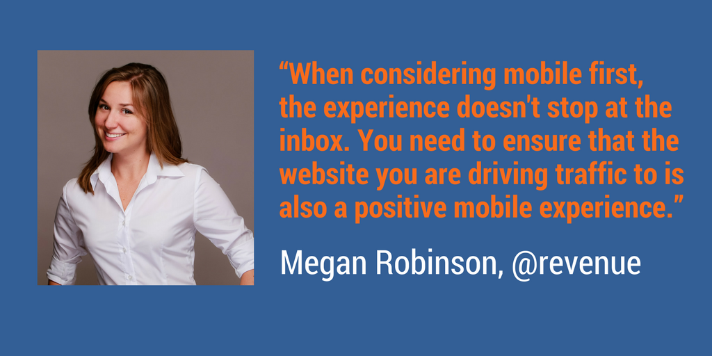 Megan Robinson, @revenue