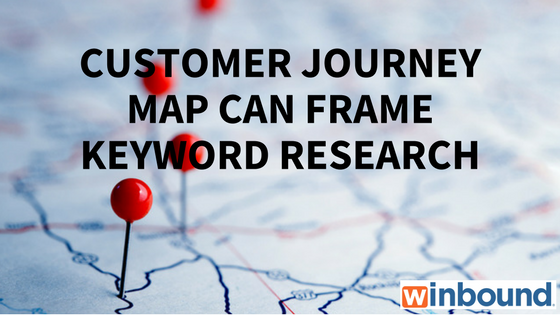 Customer Journey Map Can Frame Keyword Research