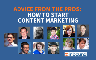 11 Big Dogs Reveal How to Start Content Marketing