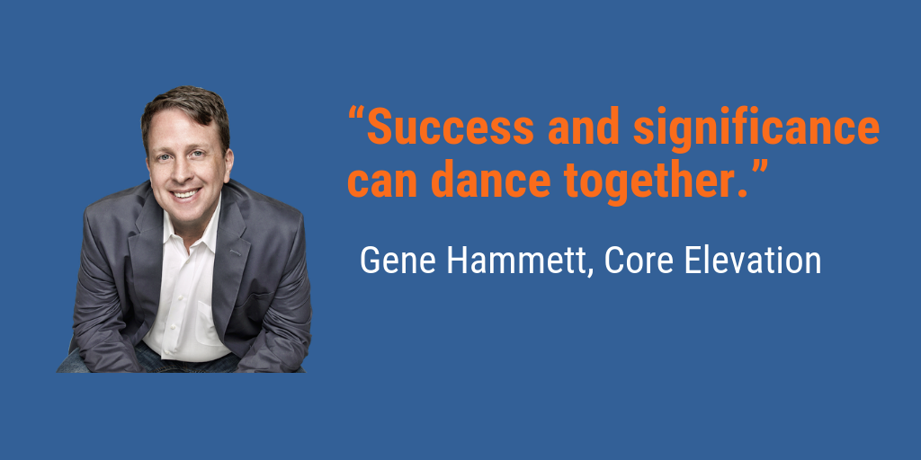 Success and Significance Can Dance Together