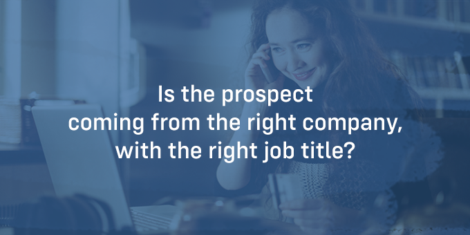 Is a prospect the right fit?