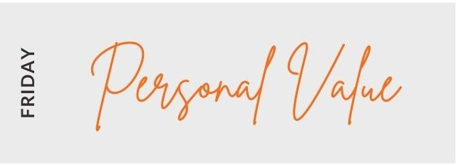 Personal Value on Friday