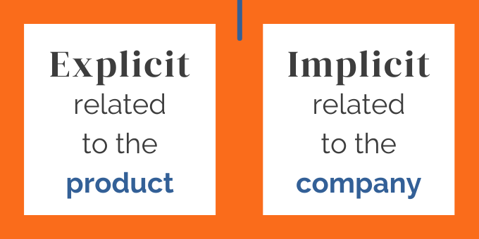 Explicit and Implicit